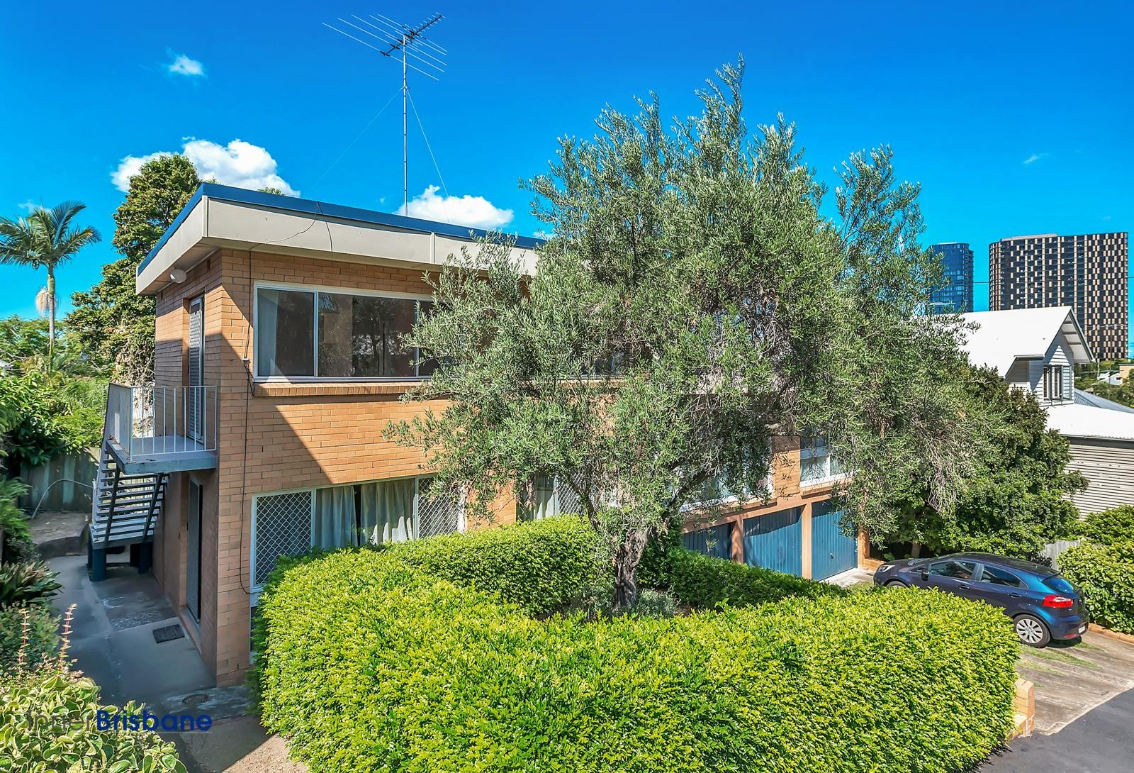 Top of the hill unfurnished spring hill id 344 - 2 bedroom units for rent brisbane ...