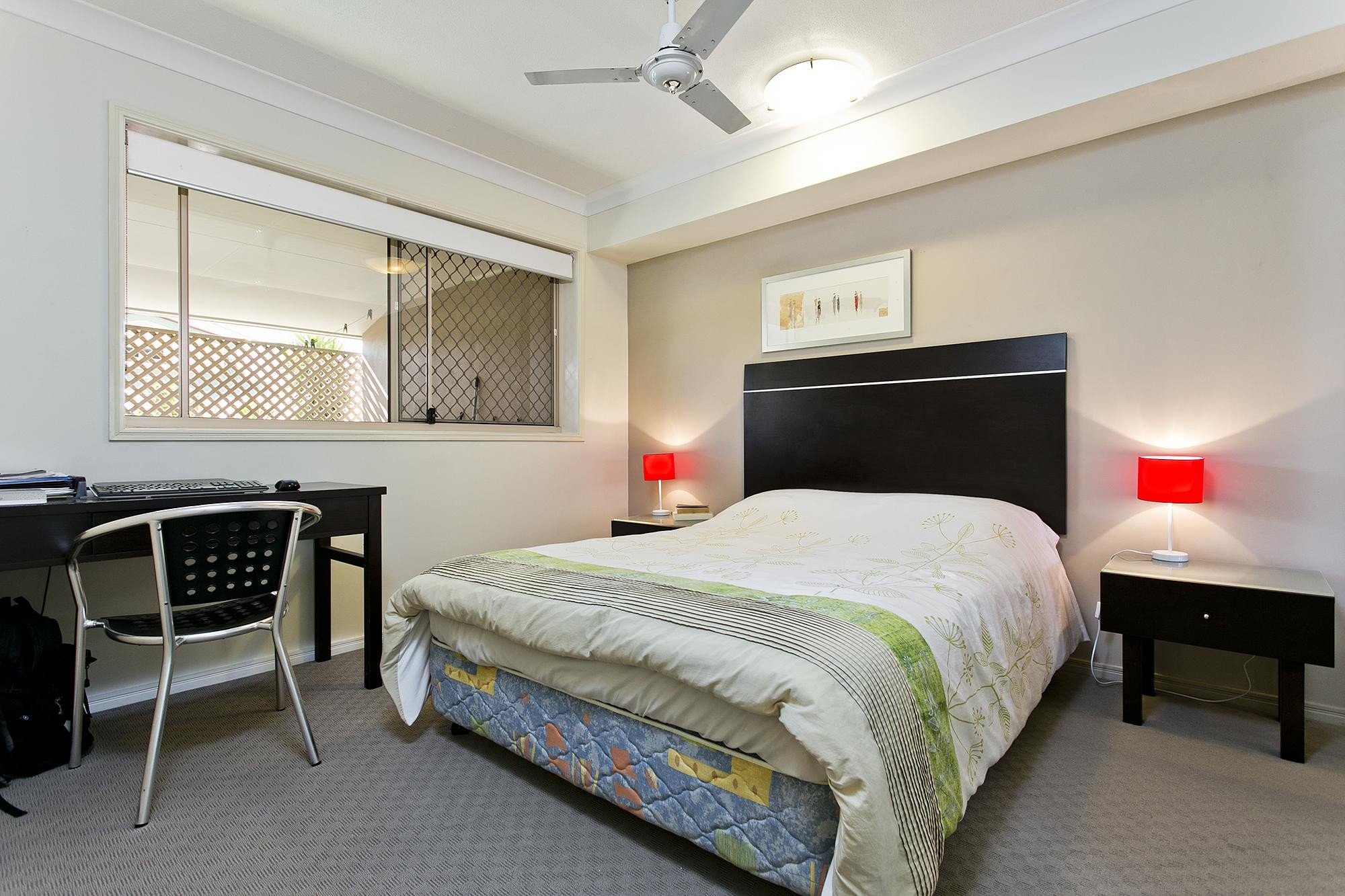 Furnished two bedroom two bathroom unit great location - 2 bedroom units for rent brisbane ...